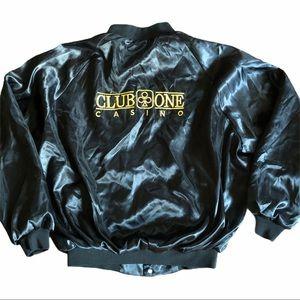 Vintage Bomber Button up Jacket